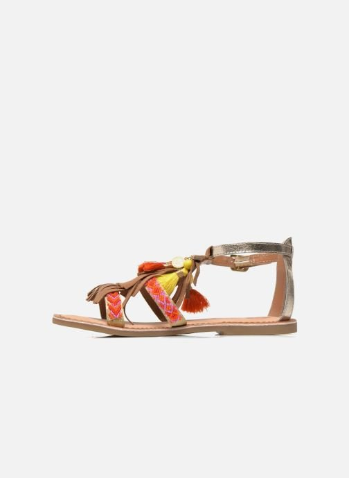 Sandals Gioseppo Dima Brown front view