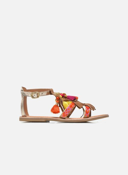Sandals Gioseppo Dima Brown back view