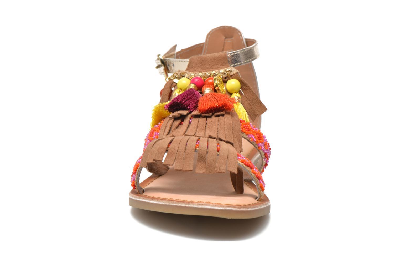 Sandals Gioseppo Dima Brown model view