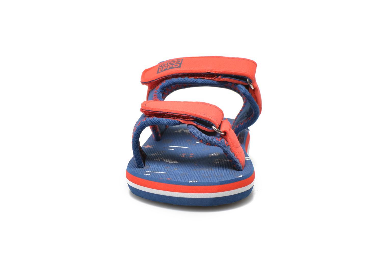 Sandales et nu-pieds Gioseppo Flete Bleu vue portées chaussures