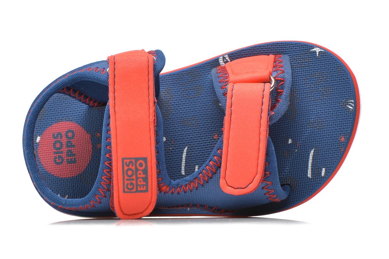 Sandales et nu-pieds Gioseppo Flete Bleu vue gauche