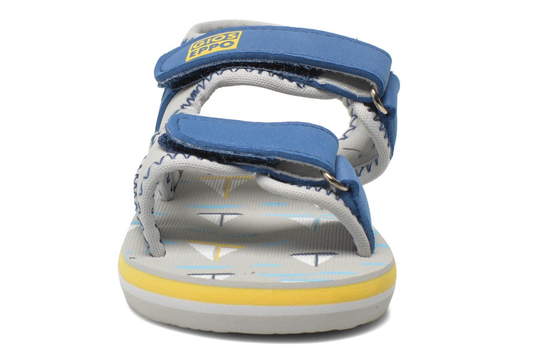 Sandales et nu-pieds Gioseppo Flete Gris vue portées chaussures