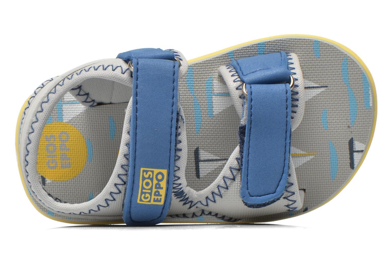 Sandales et nu-pieds Gioseppo Flete Gris vue gauche
