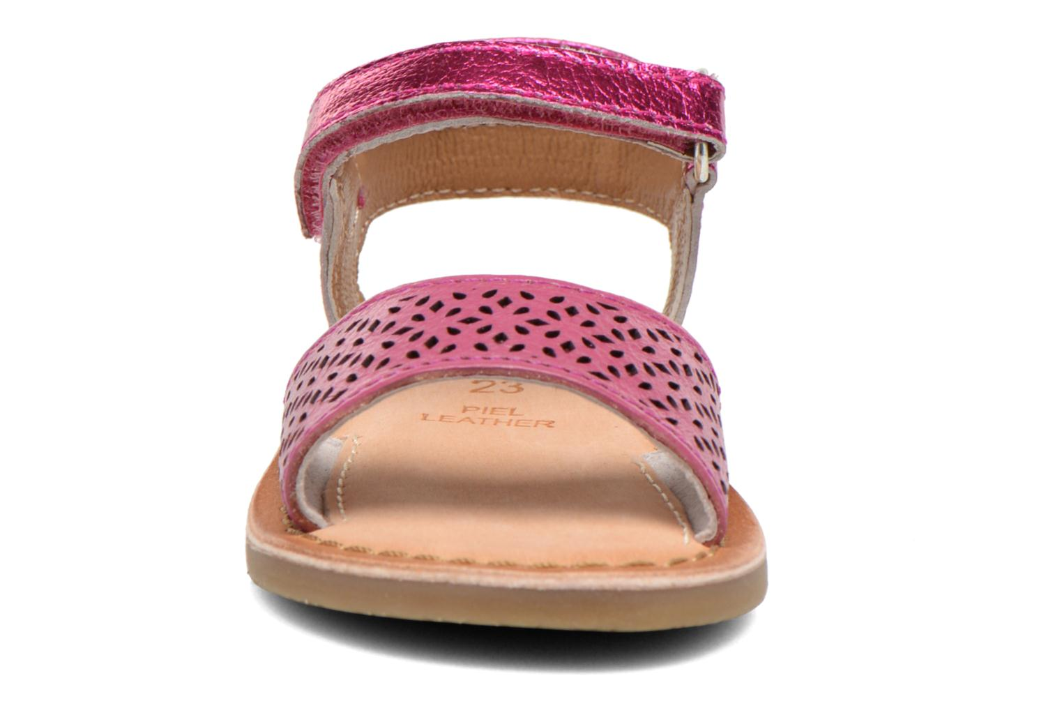 Sandals Gioseppo Carla Pink model view