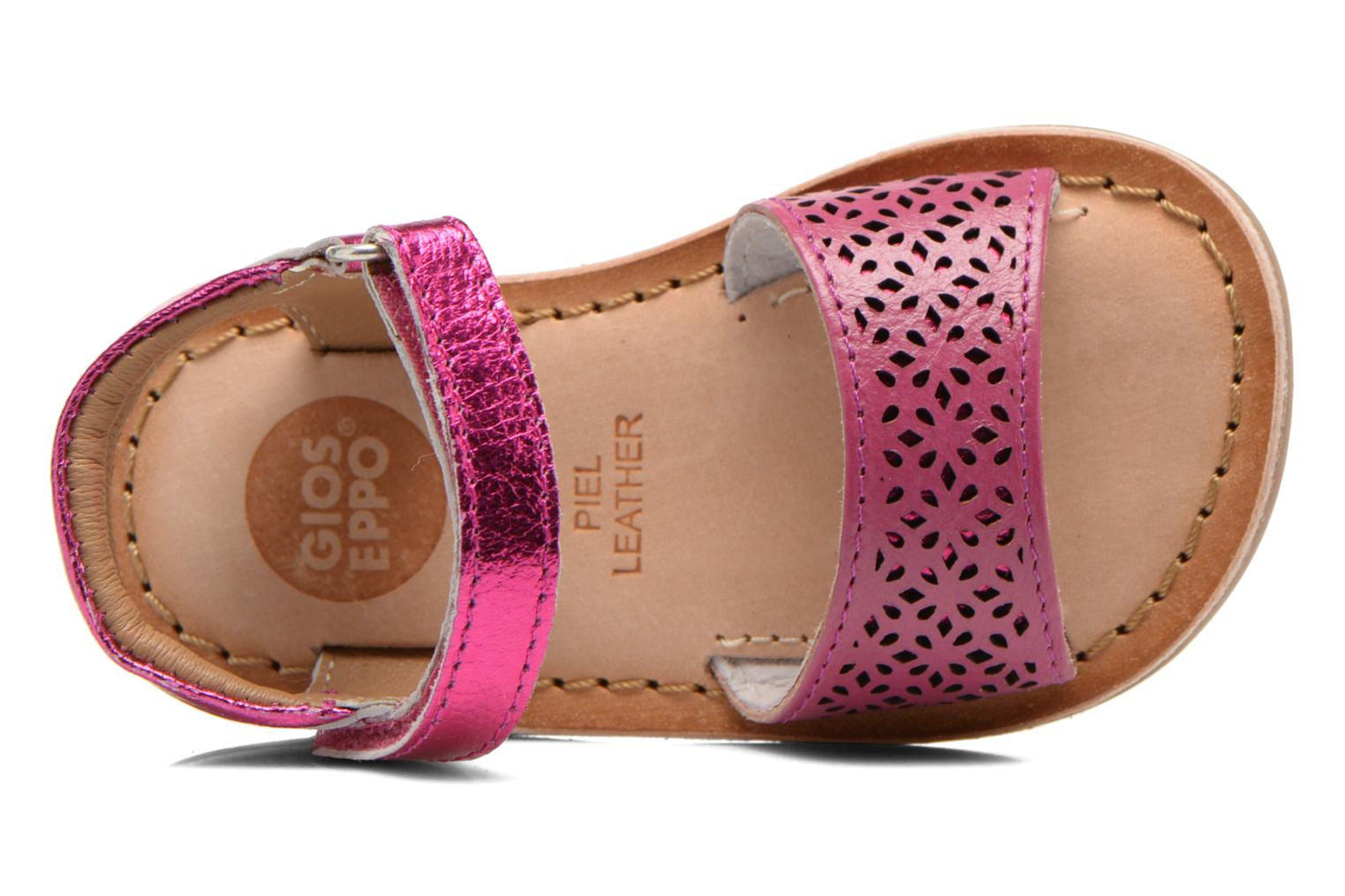Sandals Gioseppo Carla Pink view from the left