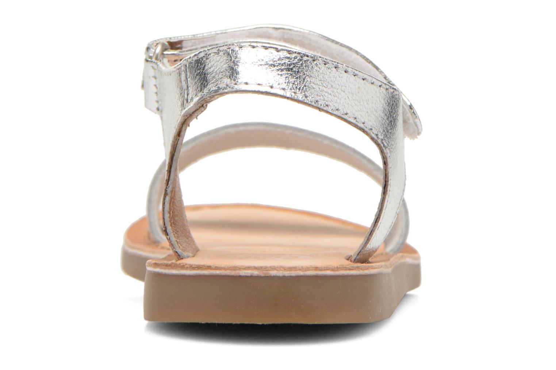 Sandales et nu-pieds Gioseppo Madona Blanc vue droite