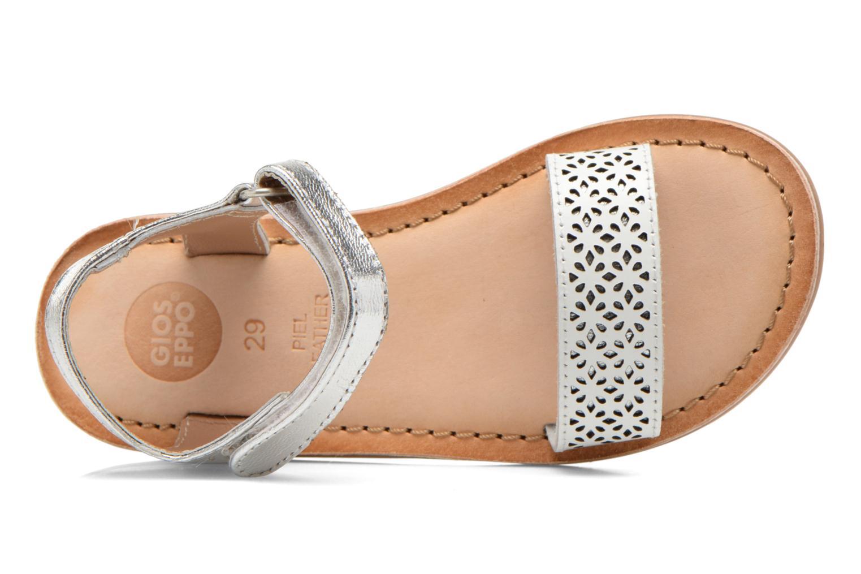 Sandales et nu-pieds Gioseppo Madona Blanc vue gauche