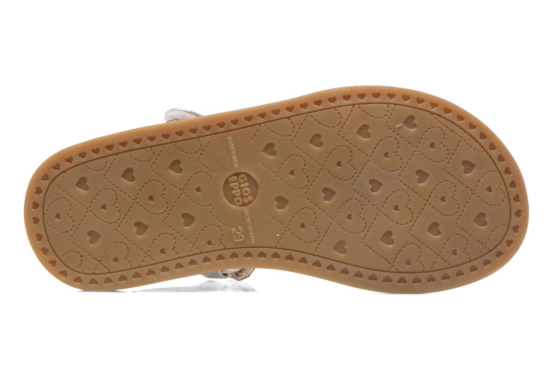 Sandales et nu-pieds Gioseppo Madona Blanc vue haut