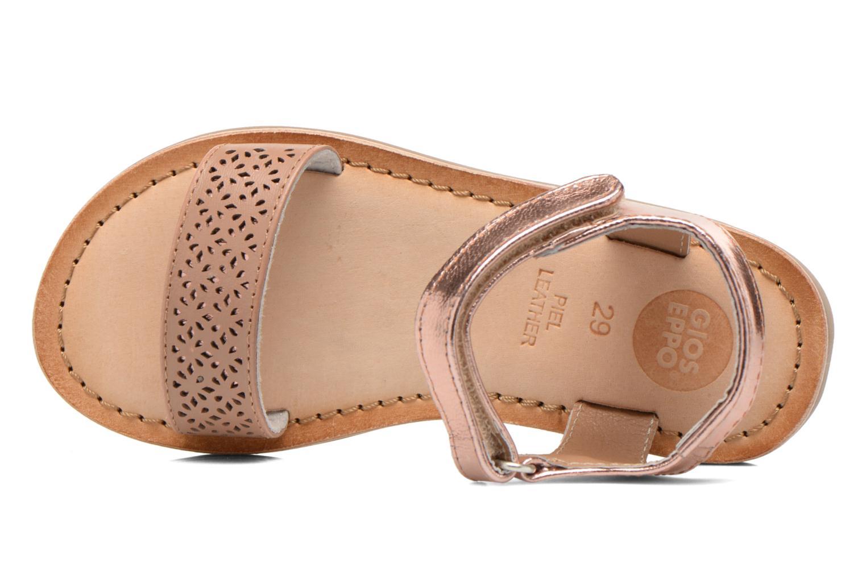 Sandales et nu-pieds Gioseppo Madona Rose vue gauche