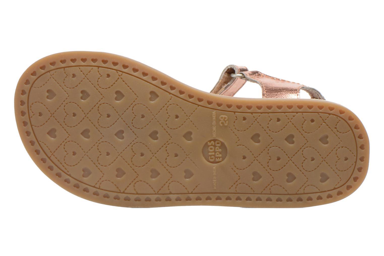 Sandales et nu-pieds Gioseppo Madona Rose vue haut