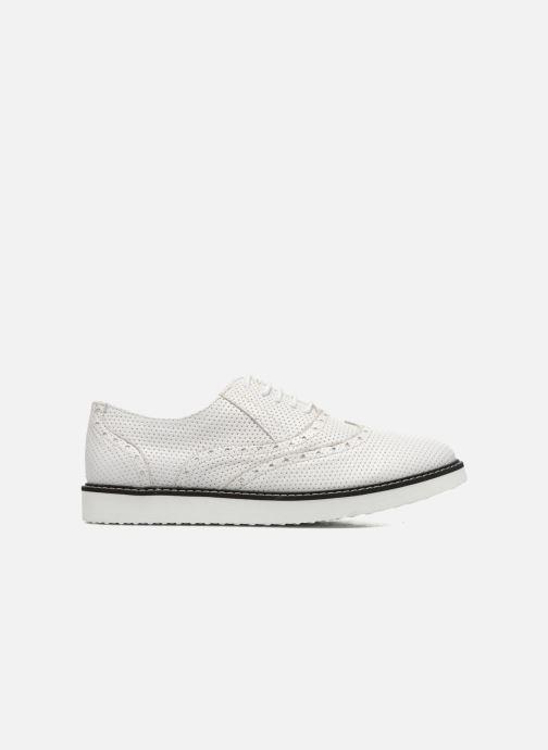 Zapatos con cordones Ippon Vintage Andy k perfo Blanco vistra trasera