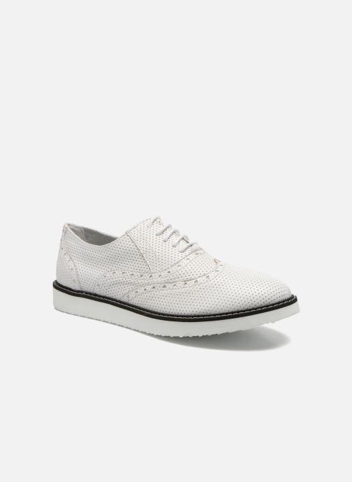 Chaussures à lacets Ippon Vintage Andy k perfo Blanc vue détail/paire