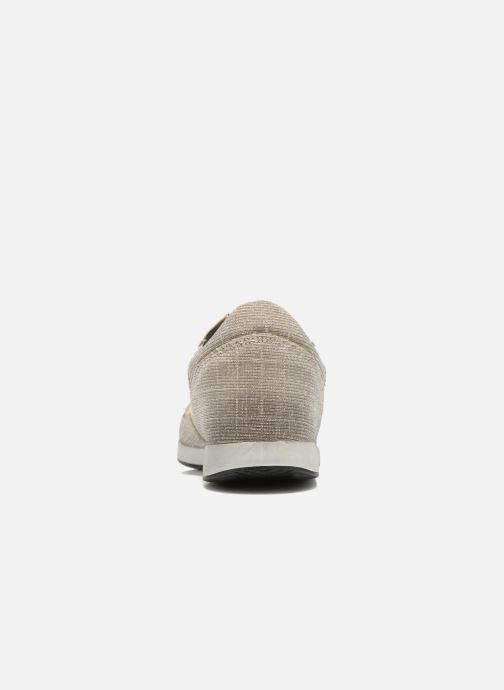 Baskets Ippon Vintage Run silver Gris vue droite