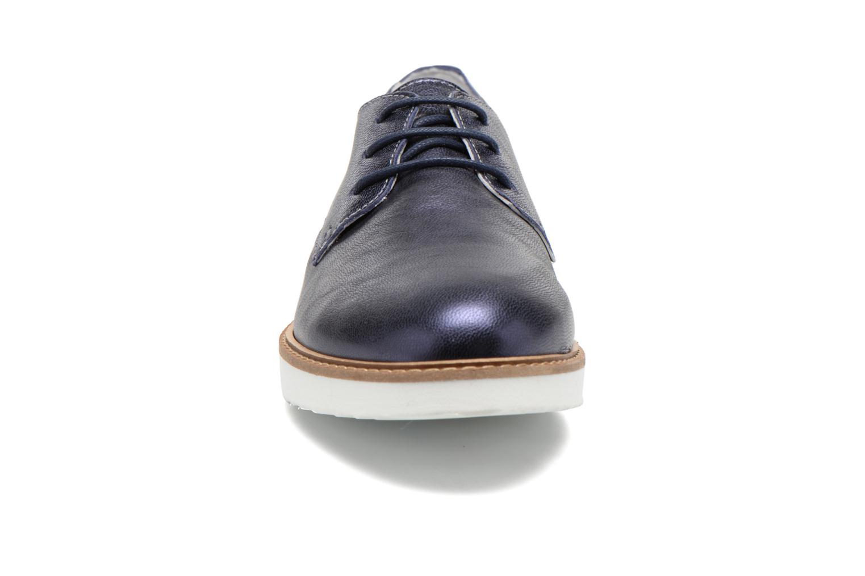 Snøresko Ippon Vintage James metal Blå se skoene på