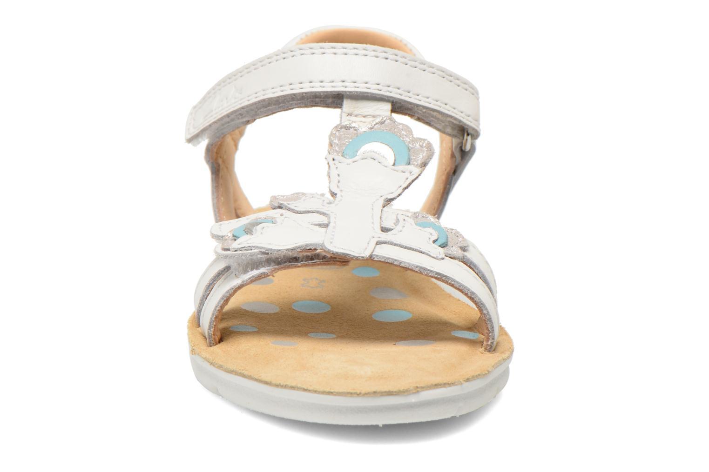 Sandales et nu-pieds Clarks MimoGracie Blanc vue portées chaussures