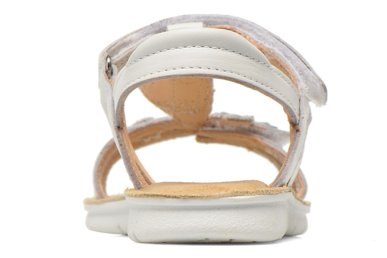 Sandales et nu-pieds Clarks MimoGracie Blanc vue droite