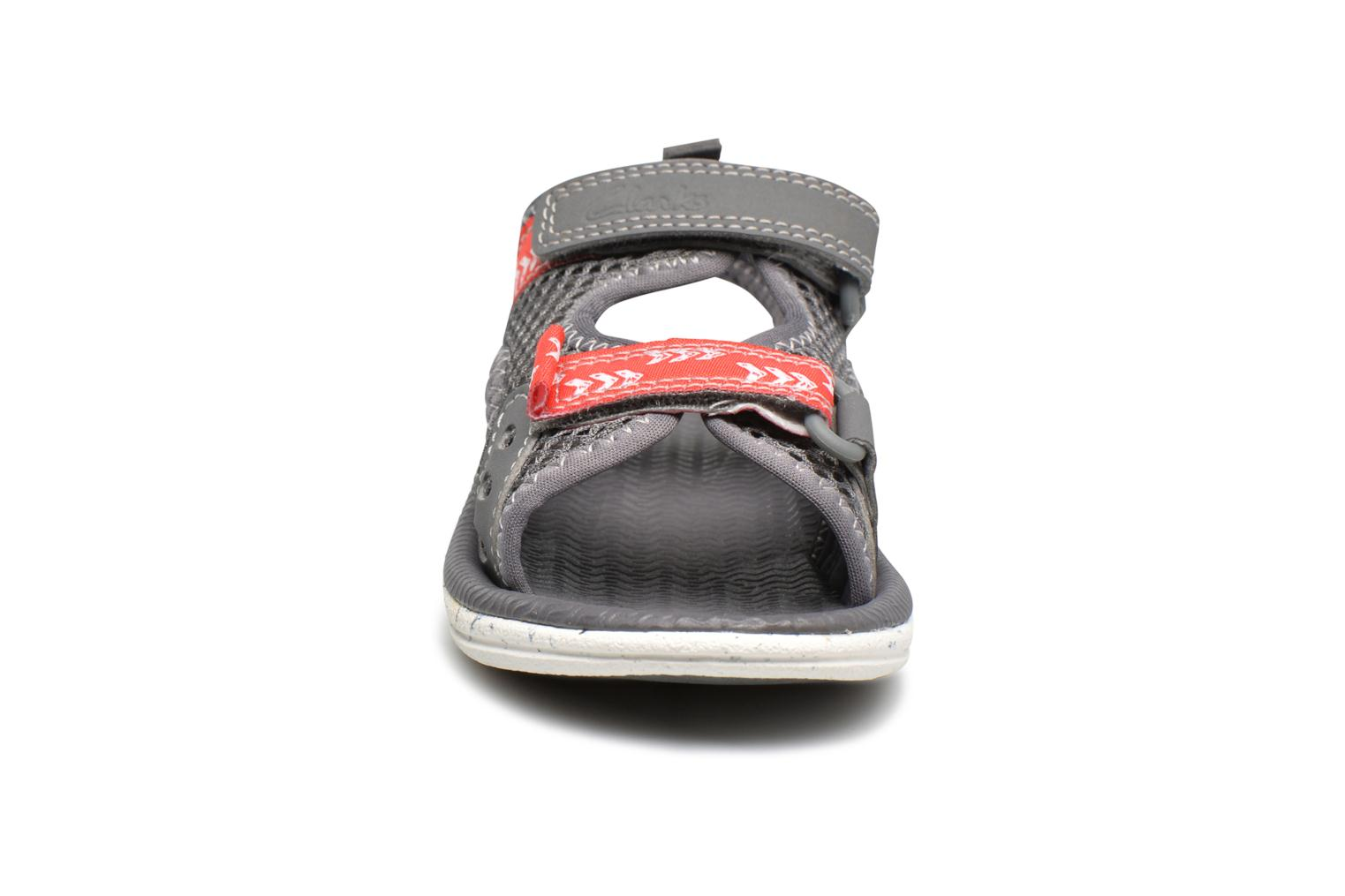 Sandals Clarks PiranhaBoy Fst Grey model view