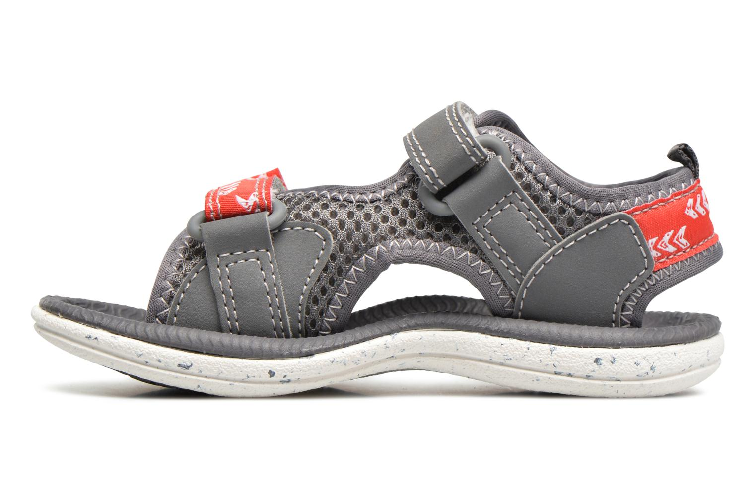 Sandals Clarks PiranhaBoy Fst Grey front view