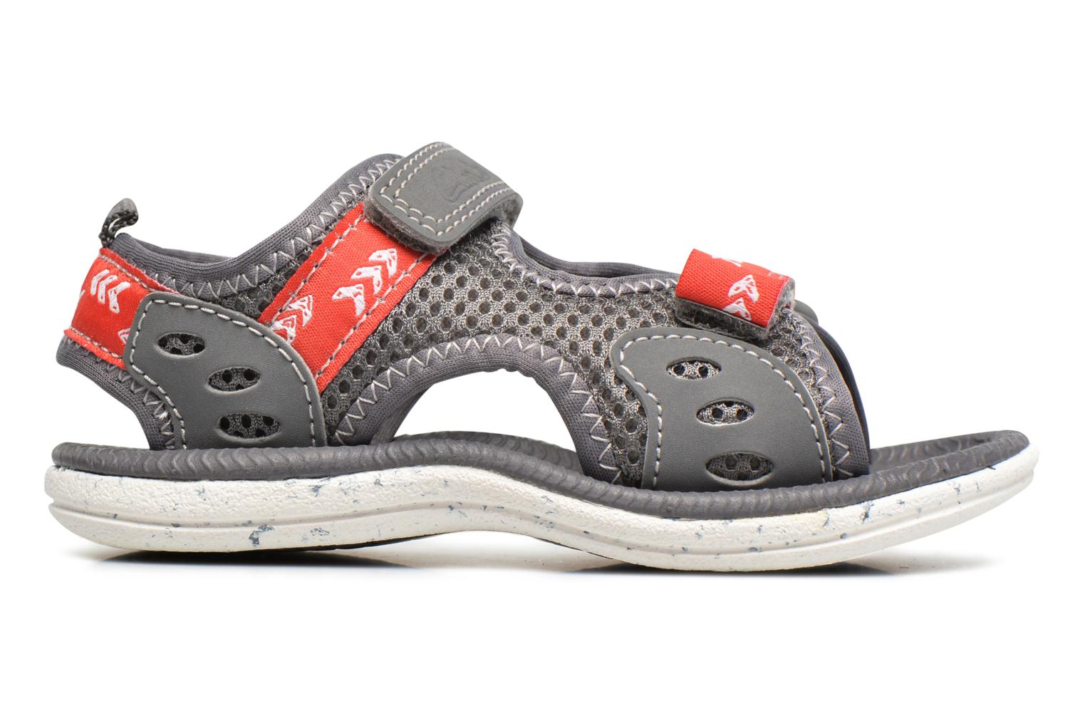 Sandals Clarks PiranhaBoy Fst Grey back view