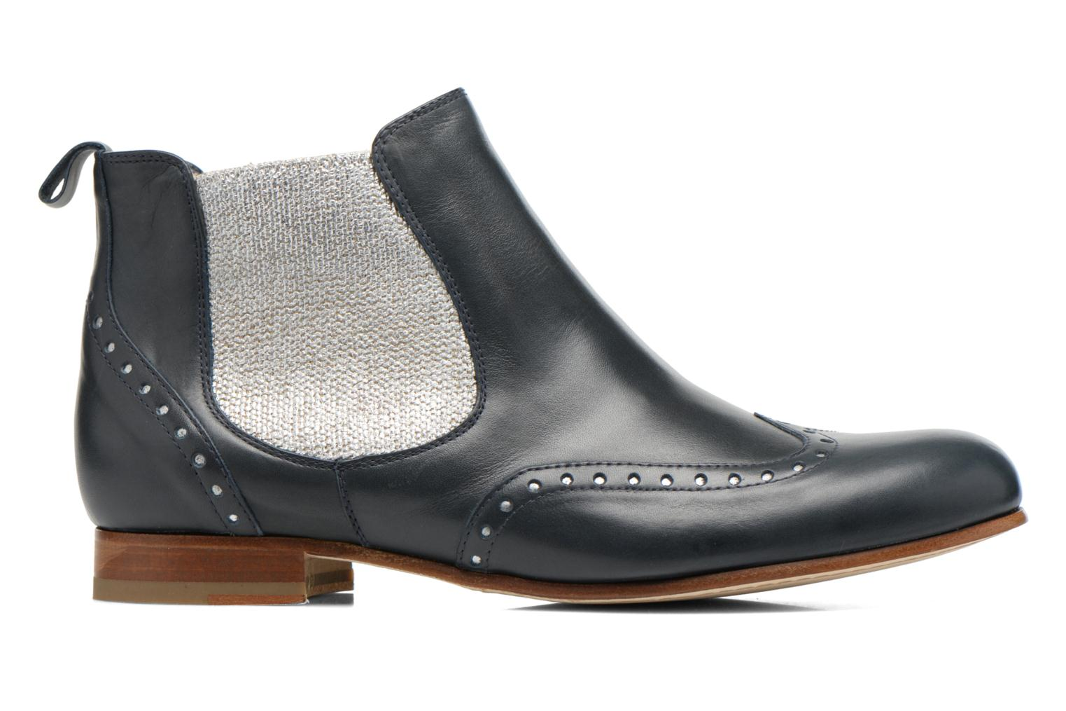 Ankle boots Georgia Rose Perla Blue back view