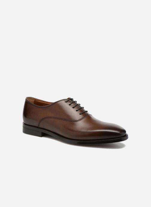 Chaussures à lacets Doucal's Guido Marron vue détail/paire