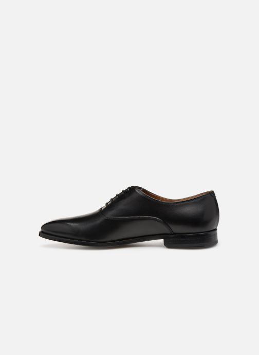 Zapatos con cordones Doucal's Guido Negro vista de frente