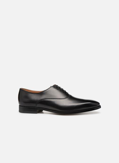 Chaussures à lacets Doucal's Guido Noir vue derrière