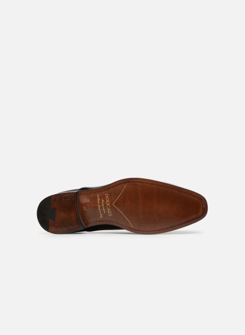 Chaussures à lacets Doucal's Guido Noir vue haut