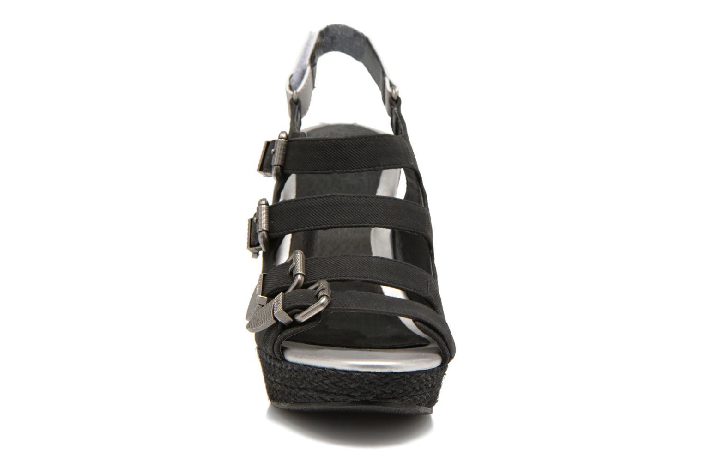 Sandales et nu-pieds Kaporal Rock Noir vue portées chaussures