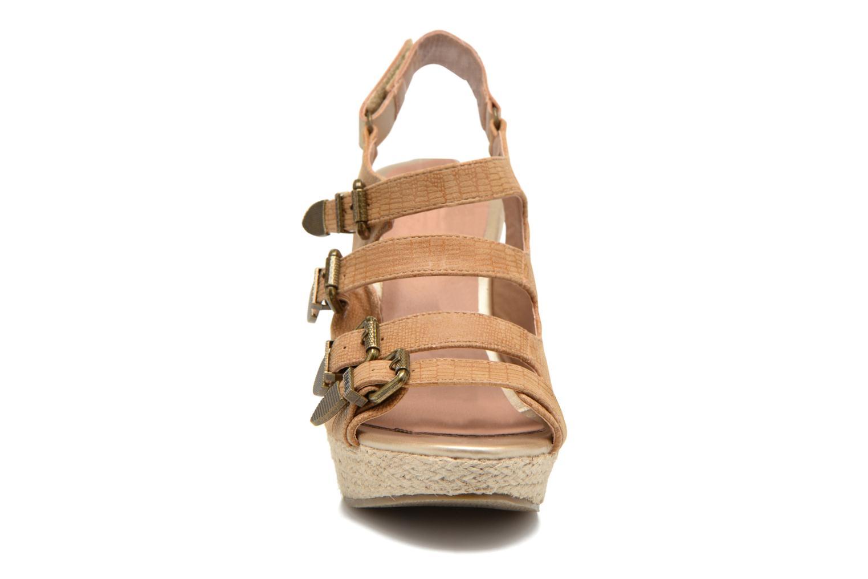 Sandals Kaporal Rock Brown model view