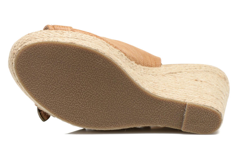 Sandales et nu-pieds Kaporal Rock Marron vue haut