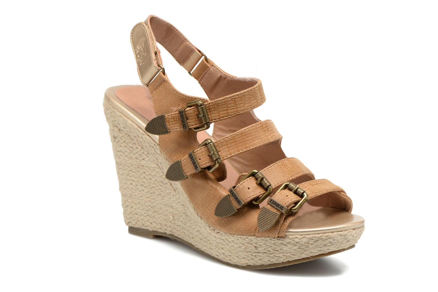 Sandals Kaporal Rock Brown detailed view/ Pair view