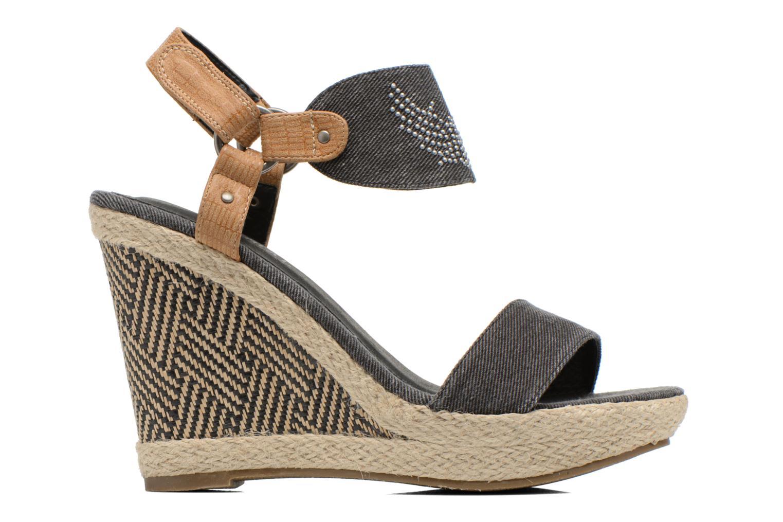 Sandales et nu-pieds Kaporal Rose Noir vue derrière
