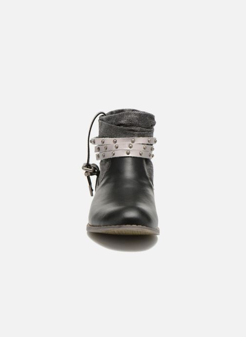 Bottines et boots Kaporal Bilow Noir vue portées chaussures