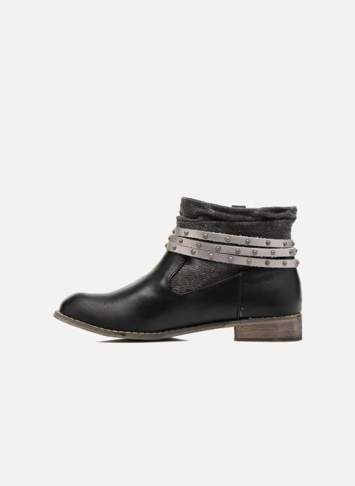 Boots en enkellaarsjes Kaporal Bilow Zwart voorkant
