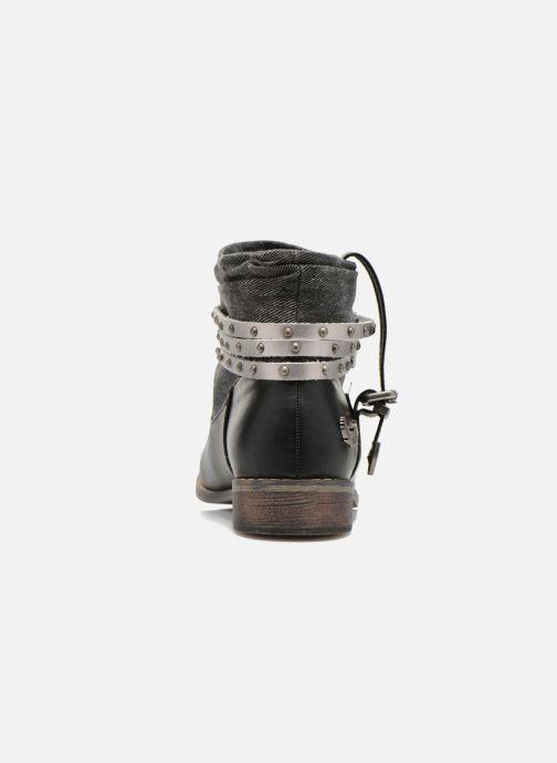 Boots en enkellaarsjes Kaporal Bilow Zwart rechts