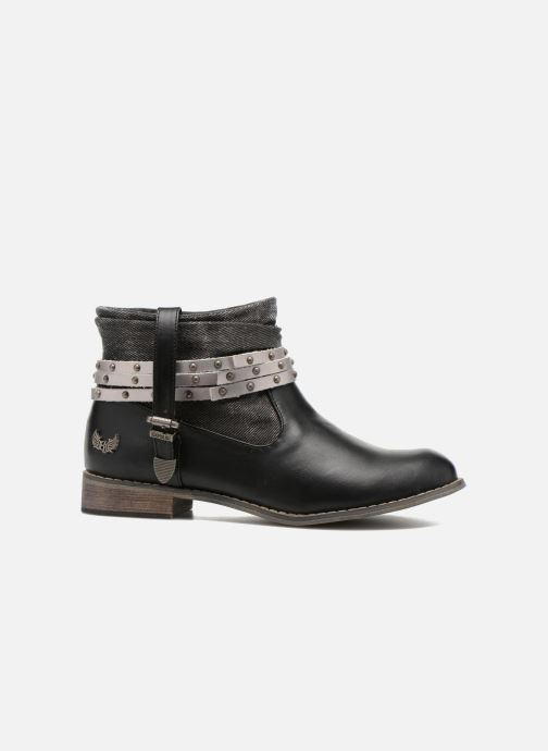 Boots en enkellaarsjes Kaporal Bilow Zwart achterkant