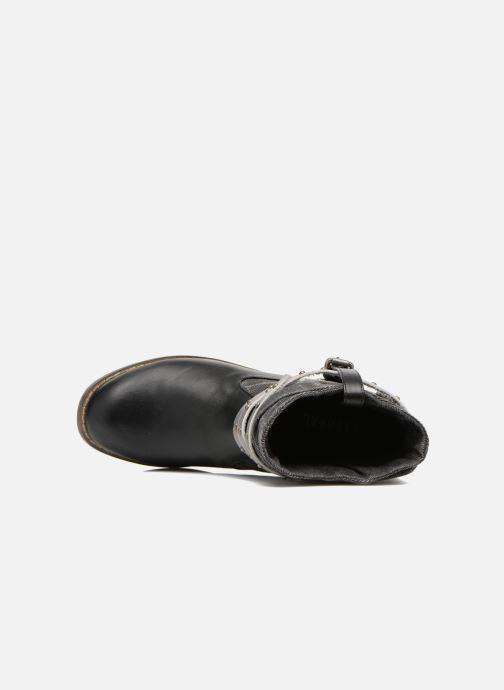 Boots en enkellaarsjes Kaporal Bilow Zwart links