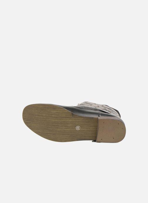 Bottines et boots Kaporal Bilow Noir vue haut