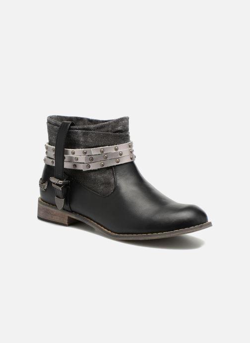 Boots en enkellaarsjes Kaporal Bilow Zwart detail