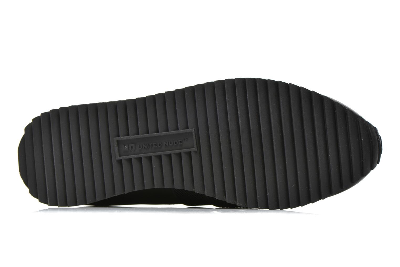 Sneakers United Nude Yoki Nero immagine dall'alto