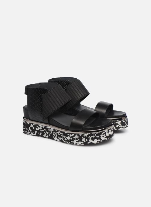 Sandales et nu-pieds United Nude Rico Sandal Noir vue 3/4