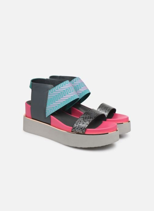 Sandales et nu-pieds United Nude Rico Sandal Multicolore vue 3/4
