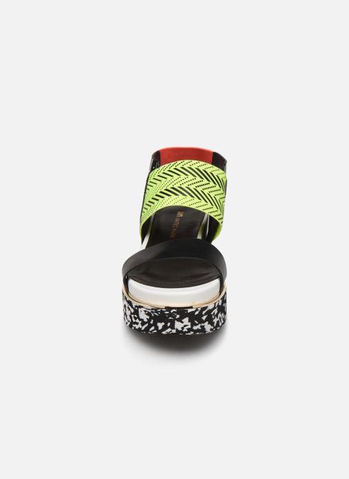 Sandales et nu-pieds United Nude Rico Sandal Noir vue portées chaussures