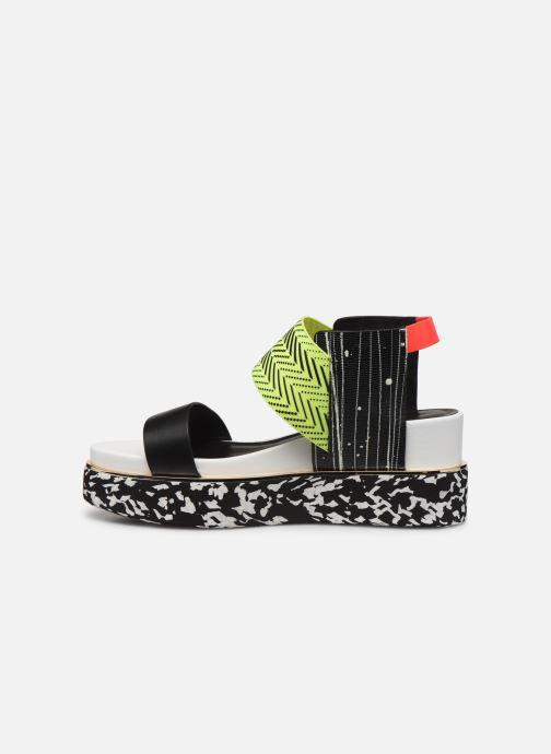Sandales et nu-pieds United Nude Rico Sandal Noir vue face