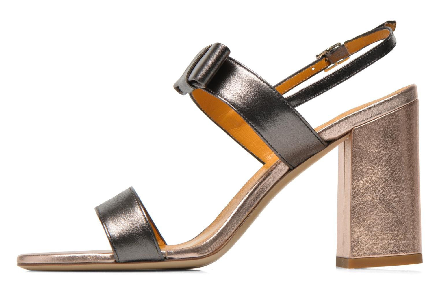 Sandals Atelier Mercadal Chili Grey front view