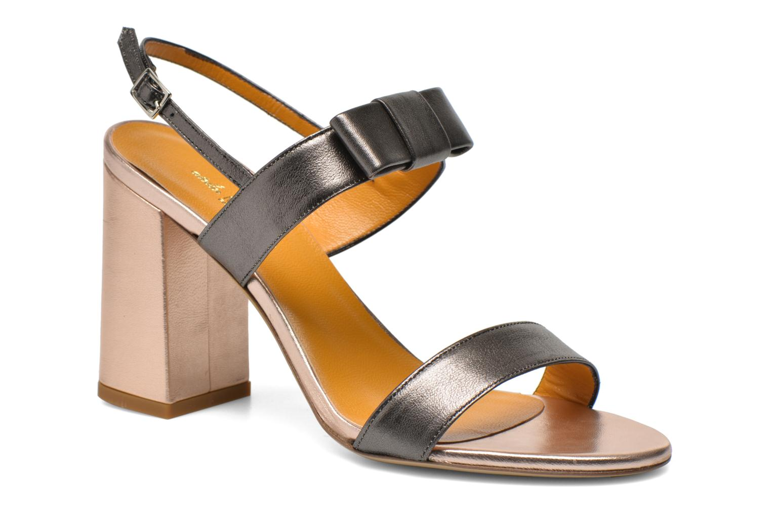 Sandals Atelier Mercadal Chili Grey detailed view/ Pair view