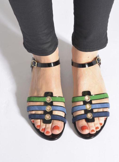 Sandales et nu-pieds Sonia Rykiel Mymy Multicolore vue bas / vue portée sac