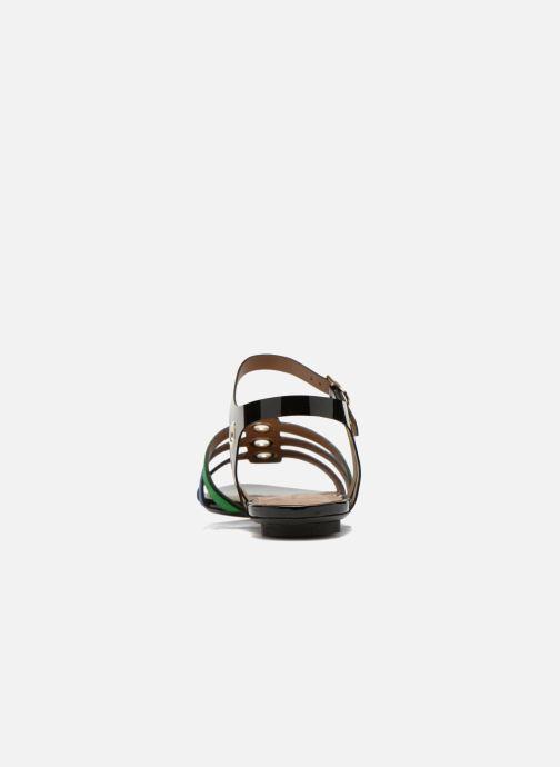 Sandales et nu-pieds Sonia Rykiel Mymy Multicolore vue droite