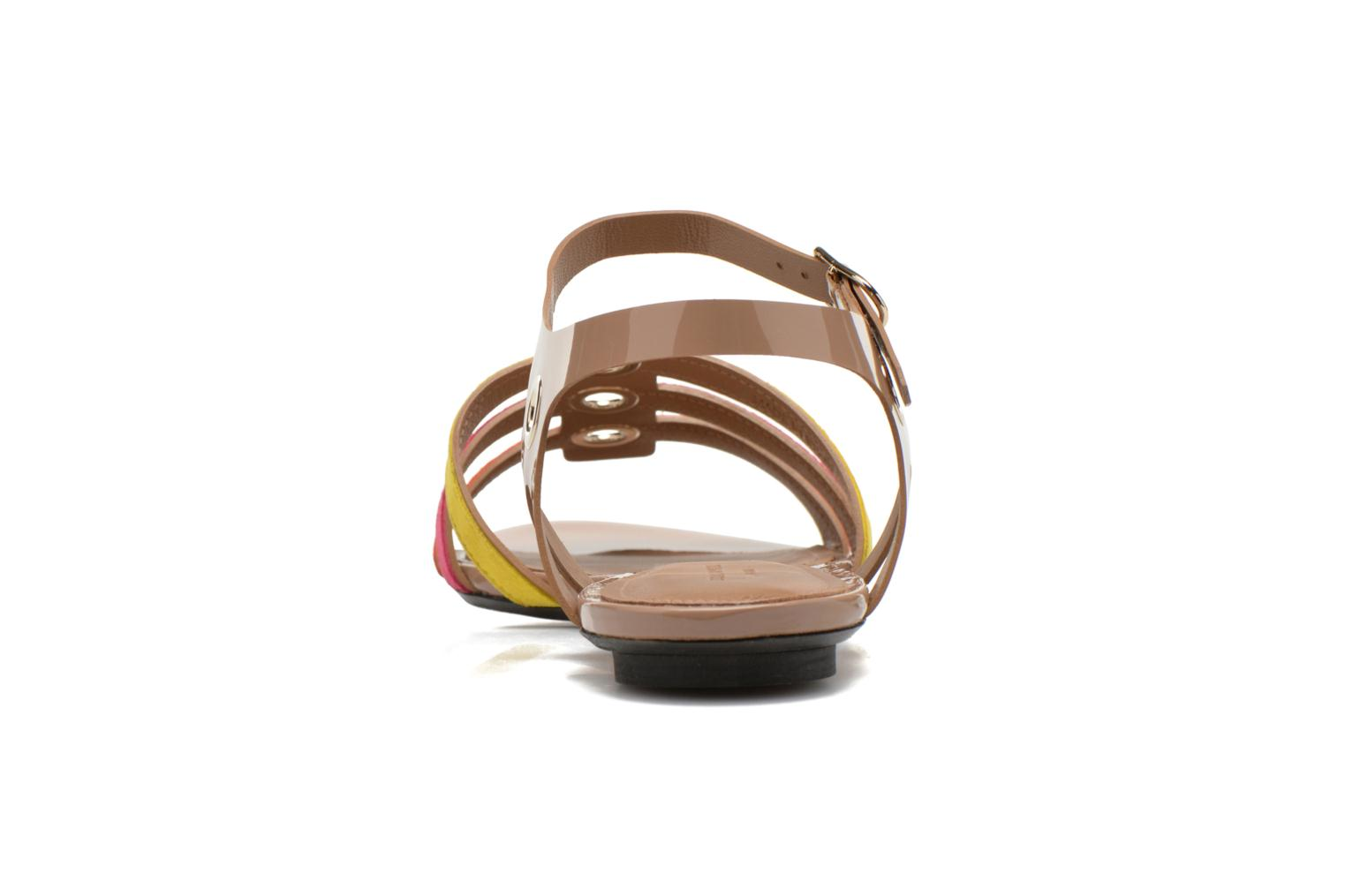Sandals Sonia Rykiel Podium Multicolor view from the right